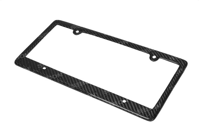 Seibon Carbon Fiber License Plate Frame (4 Hole)