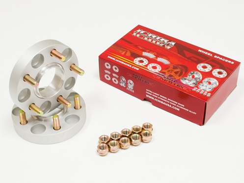 ICHIBA Version II Hubcentric Wheel Spacers 38mm Mazda / Mitsubishi (5:114.3 / 67.1 Bore / 12x1.5 Thread Type)