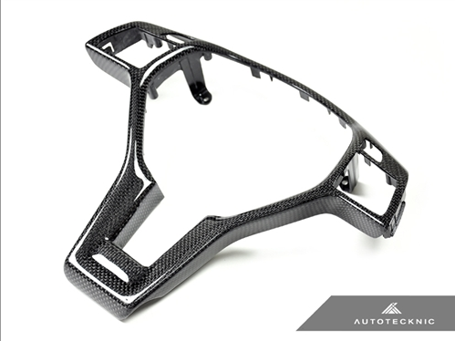 AutoTecknic Carbon Fiber Steering Wheel Trim - Mercedes Benz (Various Vehicles)