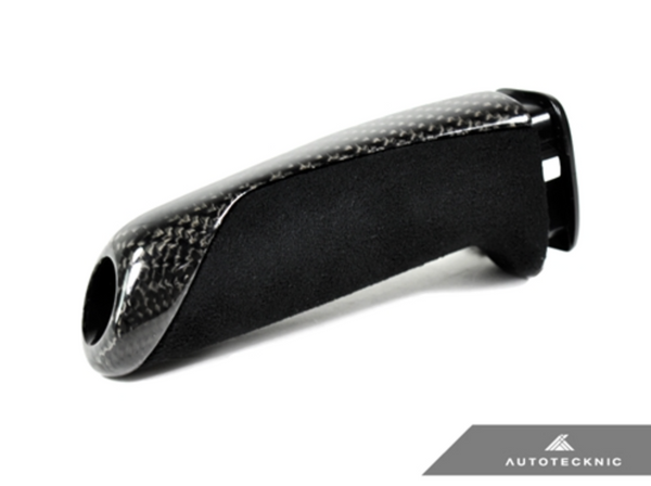 AutoTecknic Carbon Alcantara E-Brake Handle - BMW F-Chassis