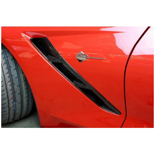 2014-up Chevrolet Corvette C7 Carbon Fiber Fender Vents