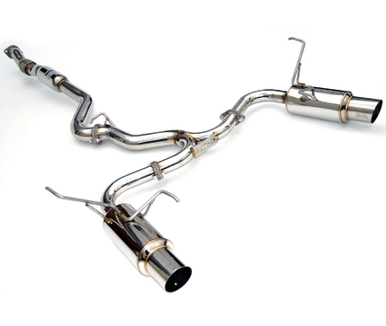 Invidia Dual N1 Cat-Back Exhaust 2015-up Subaru WRX/STI (SS Tips)