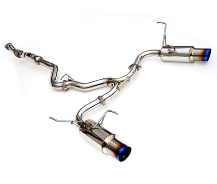 Invidia Dual N1 Cat-Back Exhaust 2015-up Subaru WRX & STI (Titanium Tips)