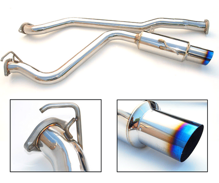 Invidia N1 Racing Cat-Back Exhaust (Single Exit) 2015-up Subaru WRX/STI (Titanium Tip)
