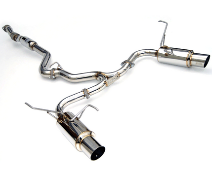 Invidia Dual N1 Cat-Back Exhaust 2008-14 Subaru WRX/STI Sedan / 2009-13 Forester XT (SS Tips)
