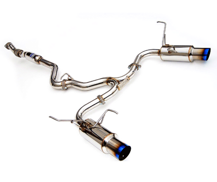 Invidia Dual N1 Cat-Back Exhaust 2008-14 Subaru WRX/STI Sedan / 2009-13 Forester XT (Titanium Tips)
