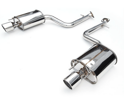 Invidia Q300 Axle-Back Exhaust 2014-up Lexus IS250/IS350 (rolled stainless tips)