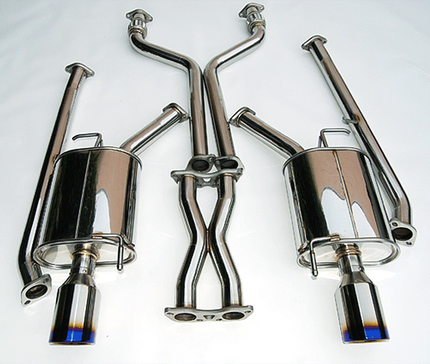 Invidia Q300 Cat-Back Exhaust 07-08 Infiniti G35 Sedan, 09-14 G37 Sedan, 15-16 Q40 (Titanium tips)
