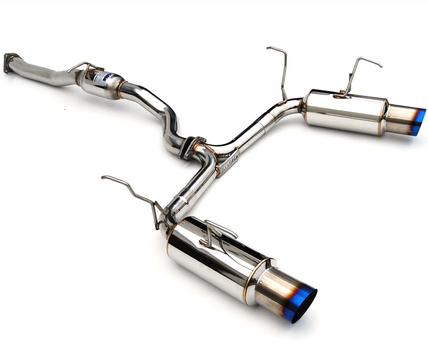 Invidia N1 Dual Cat-Back Exhaust 2000-09 Honda S2000 (Titanium Tip)