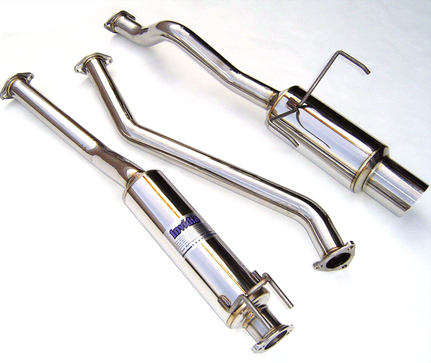 Invidia N1 Cat-Back Exhaust 2001-05 Honda Civic EX Coupe/Sedan (SS Tip)