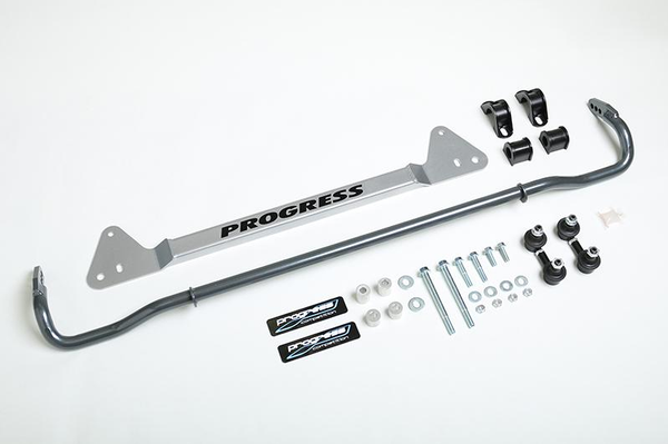 Progress 92-95 Civic incl. Si, Rear anti-sway bar, brace & end link system (22mm Adjustable)