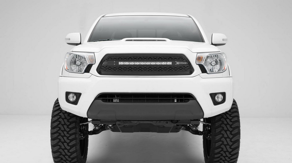 T-Rex ZROADZ Series 2012-2015 Toyota Tacoma LED Lighted Grille w/ One 20 Inch Slim single row Main Insert (Black)