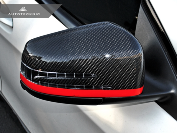 Autotecknic Replacement Carbon Fiber Mirror Covers Mercedes Benz R / ML / GL / G Class