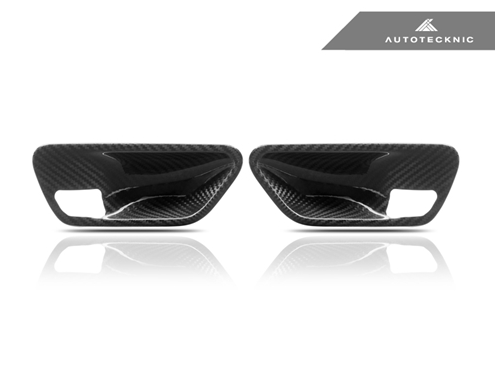 AutoTecknic Dry Carbon Interior Door Handle Trims - BMW F-Chassis