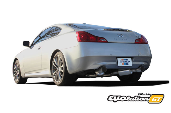 Greddy EVOlution GT Exhaust 2007-2014 Infiniti G37