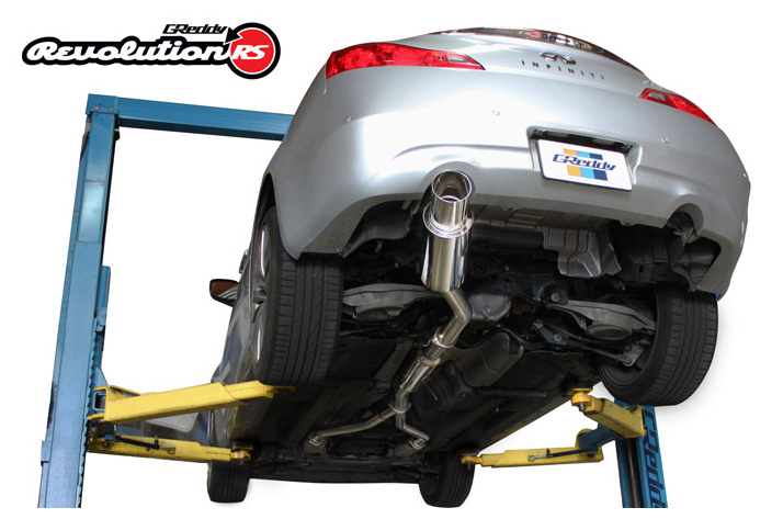 Greddy Revolution Rs Exhaust 2008 2014 Infiniti G37 Coupe Single