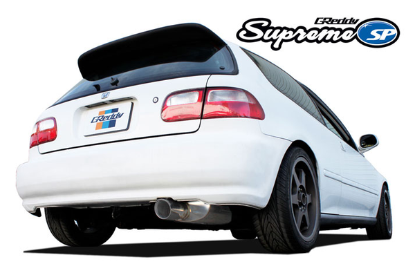 Greddy Supreme SP Exhaust 1992-1995 Honda Civic Hatchback EG (Turbo/Swap)