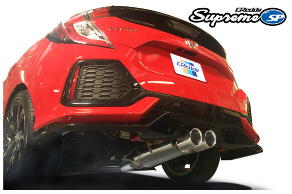 Greddy Supreme SP Exhaust 2017-up Honda Civic Sport Hatchback Turbo (FK7)