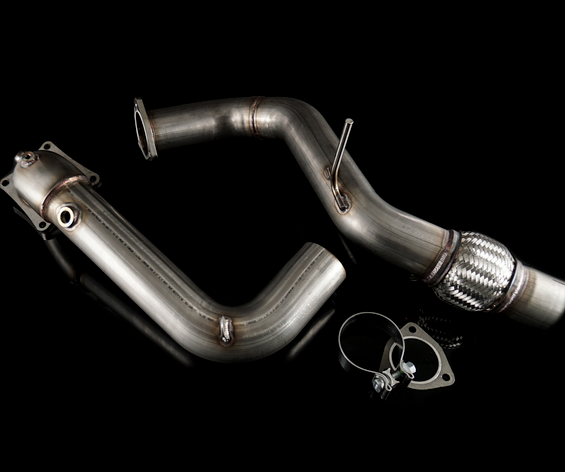 "K-Tuned 3"" Downpipe 2017 Honda Civic Type R"