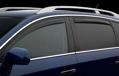 WeatherTech Side Window Deflectors 2016-2017 Kia Optima