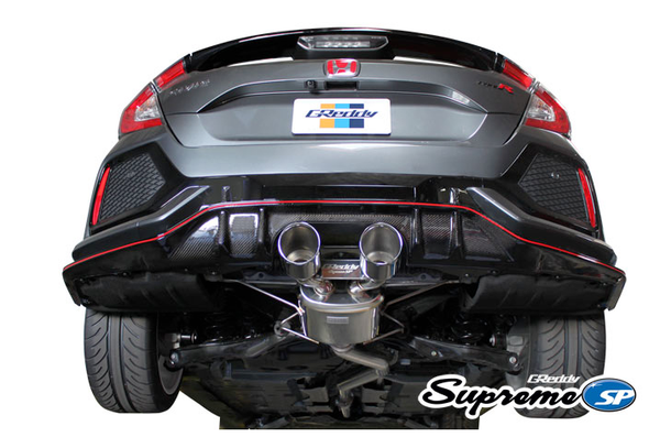 Greddy Supreme SP Exhaust 2017+ Honda Civic Type R