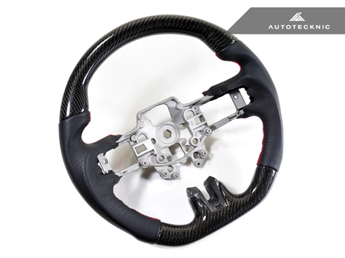 AutoTecknic Replacement Carbon Steering Wheel 2015-up Ford Mustang