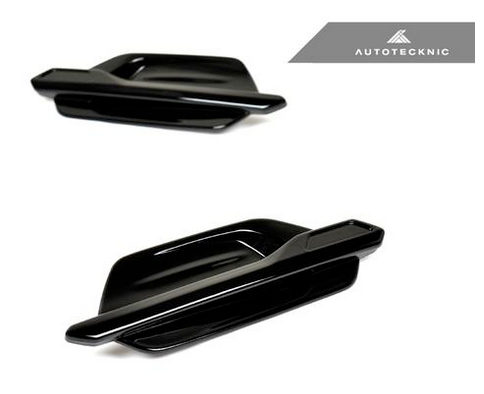 AutoTecknic Replacement Glazing Black Fender Trims F87 M2