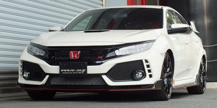 RS-R Down Sus Springs 2018+ Honda Civic Type R (FK8)