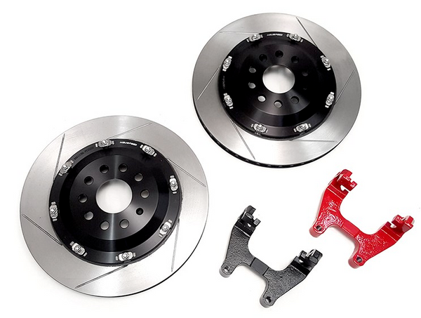 NEUSPEED 350mm Floating Rear Rotor Kit Audi S3, RS3, TTS, TTRS / VW Atlas, Golf R MK7