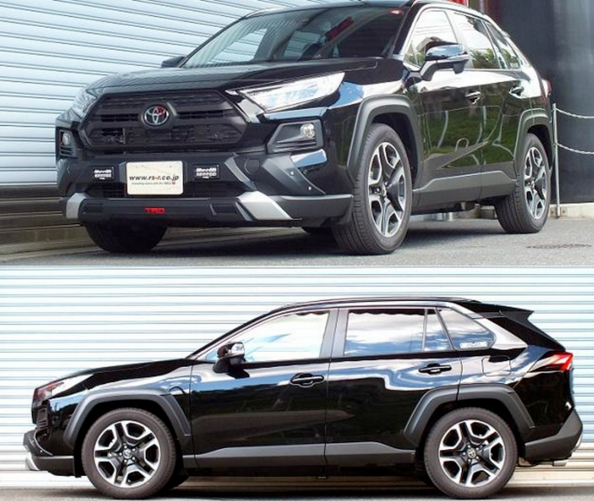 RS-R Down Sus Springs 2019+ Toyota RAV4 (FWD)