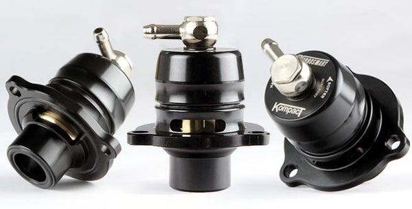 Turbosmart Blow Off Valve Kompact Shortie Dual Port 2013-up Ford Fiesta ST 1.6L / Ford Fusion 1.6L EcoBoost