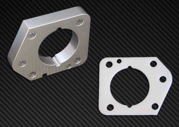 Torque Solution Throttle Body Spacer 2006-2011 Honda Civic LX,EX,DX R18