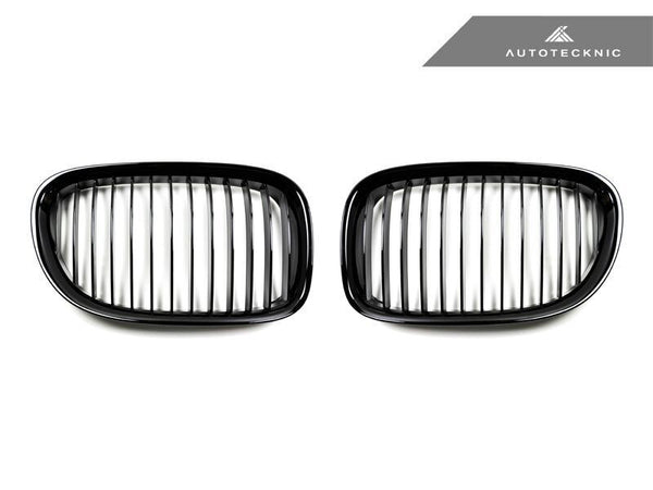 AutoTecknic Replacement Glazing Black Front Grilles BMW F01/ F02 7-Series