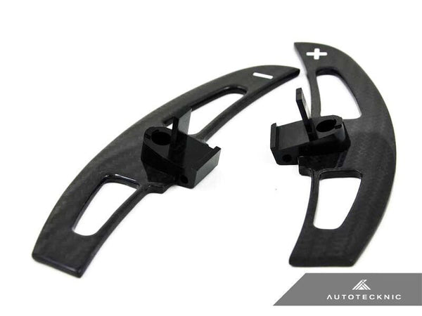 AutoTecknic Carbon Fiber Competition Shift Levers (Paddles) - E46 M3 SMG
