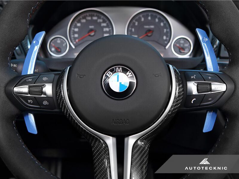 AutoTecknic Competition Steering Shift Levers (Paddles) - F87 M2 | F80 M3 | F82/ F83 M4 | F10 M5 | F06/ F12/ F13 M6 | F85