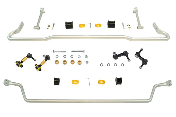 Whiteline Front & Rear Sway Bar Kit 2007-2014 Subaru WRX/STI