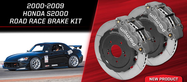 "Wilwood Forged Superlite 6R Front Brake Kit 2000-2009 Honda S2000 12.88"" GT Slotted Rotor w/ Lines"
