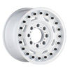 Black Rhino Axle 18x9.5 6x139.7 ET06 CB 112.1 Gloss White Wheel