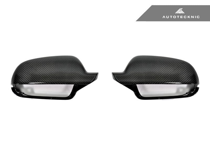 Autotecknic Replacement Carbon Fiber Mirror Covers Audi Audi B9 A4