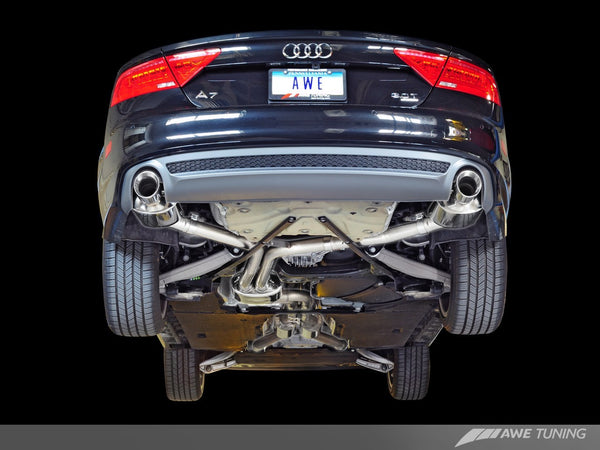 AWE Tuning Touring Edition Exhaust 2012-2015 Audi A7 (3.0T)