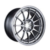 18x9.5 Enkei Racing NT03+M Ford Focus RS Fitment Hyper Silver (5x108)