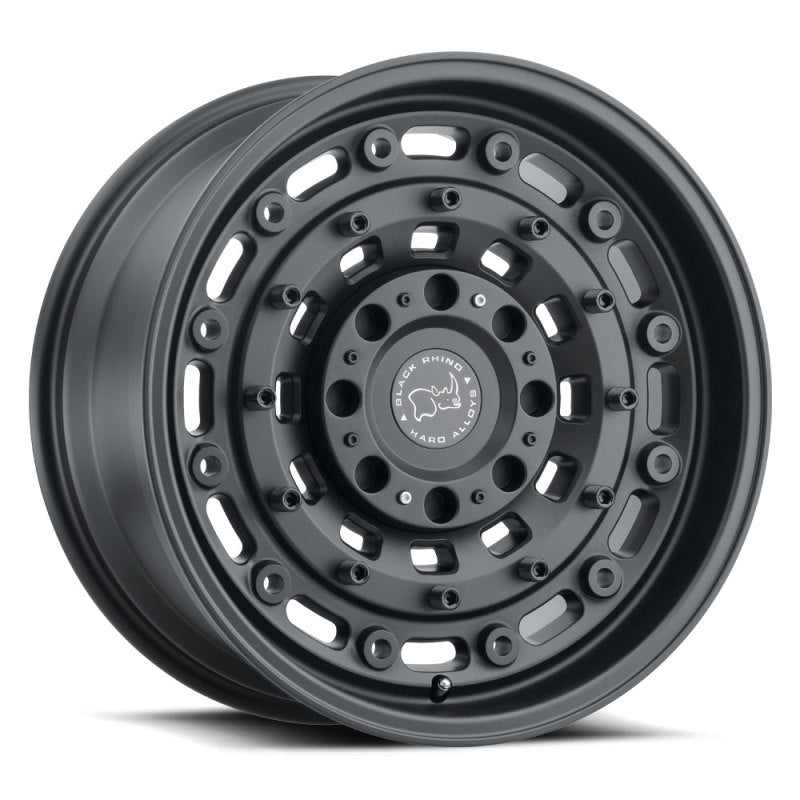 Black Rhino Arsenal 18x9.5 5x127 ET-18 CB 71.6 Textured Matte Black Wheel