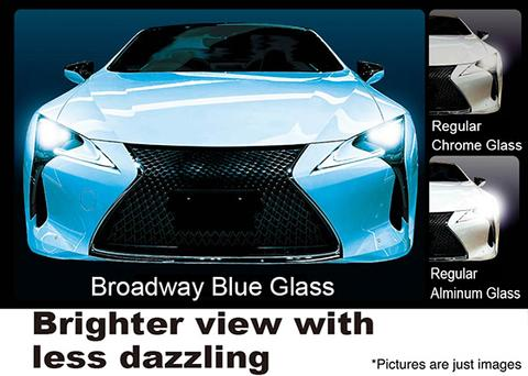 Broadway Mirrors Flabeg Blue 270mm Convex