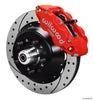 Wilwood Forged Narrow Superlite 6R Drilled Big Brake Front Brake Kit (Hub) 1974-1980 Ford Mustang II / Pinto (original disc brake spindle only)