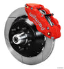 Wilwood Forged Narrow Superlite 6R Slotted Big Brake Front Brake Kit (Hub) 1974-1980 Ford Mustang II / Pinto (original disc brake spindle only)