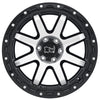 Black Rhino Coyote 18x9.0 8x165 ET-18 CB 122.1 Gloss Black w/Machined Face & Stainless Bolts Wheel