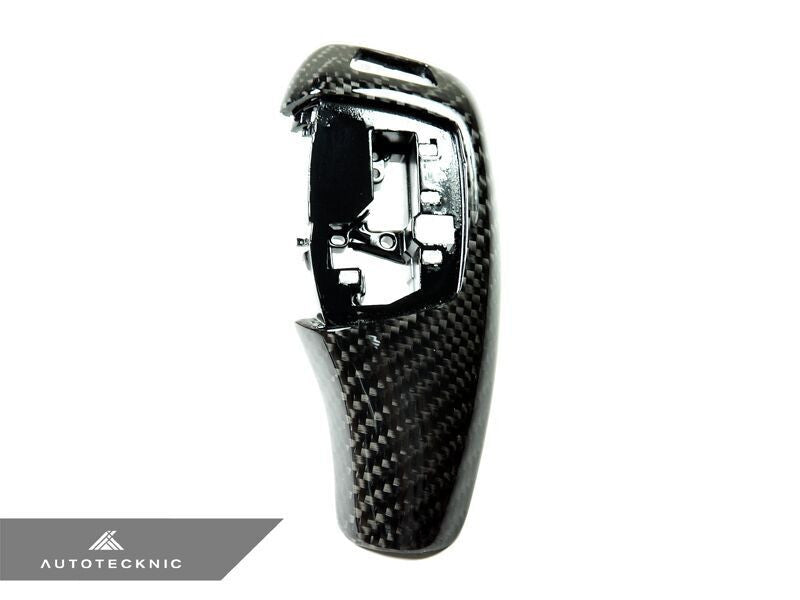 AutoTecknic Carbon Fiber Gear Selector Cover 03/2012-up BMW (Automatic Transmission Equipped Only)