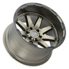 Black Rhino Oceano 18x9.5 5x127 ET-18 CB 71.6 Matte Bronze w/Black Lip Edge Wheel