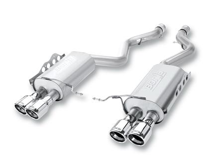 Borla Dual Exit Rear Section Exhaust S-Type 2016 Chevy Camaro SS (6.2L)