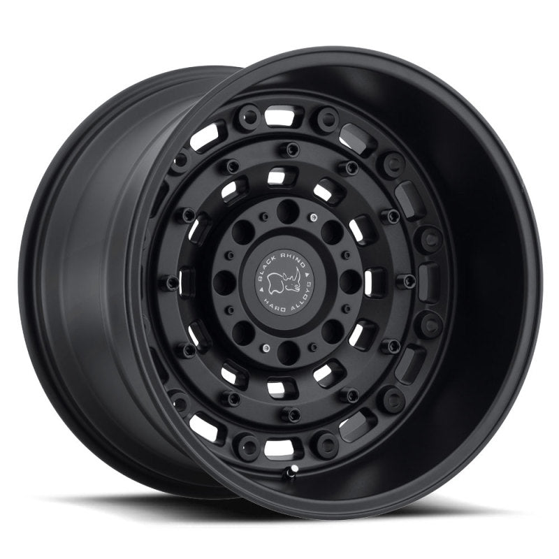 Black Rhino Arsenal 18x9.5 6x139.7 ET-18 CB 112.1 Textured Matte Black Wheel